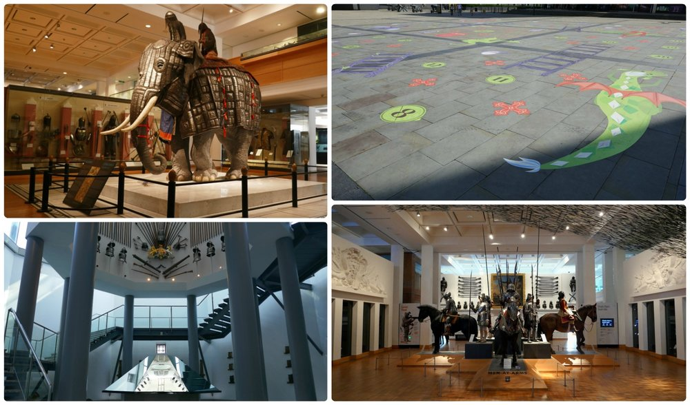 The  exhibits  within the museum are very impressive and vary by era and weaponry.