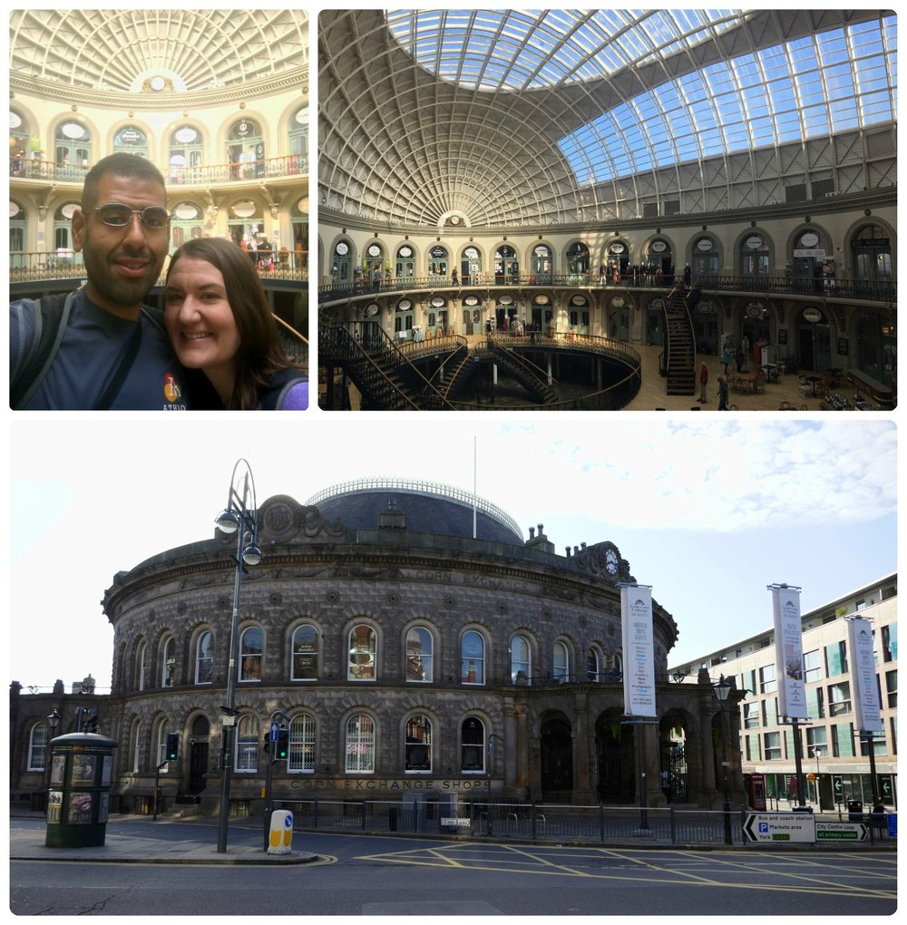 When we walked into the Corn Exchange, we felt like we were on a movie set!