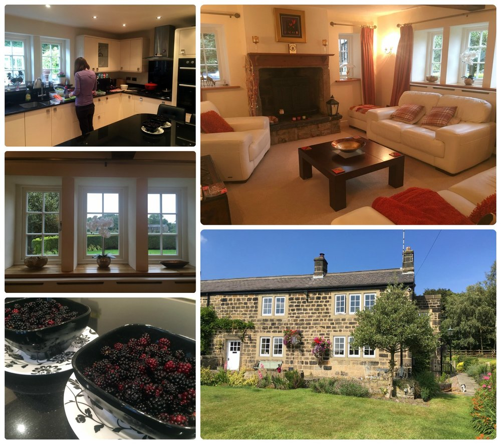 We were welcomed by the homeowners and Percy, and from the delicious blackberry picking to the beautiful home, we loved our Leeds house sit!