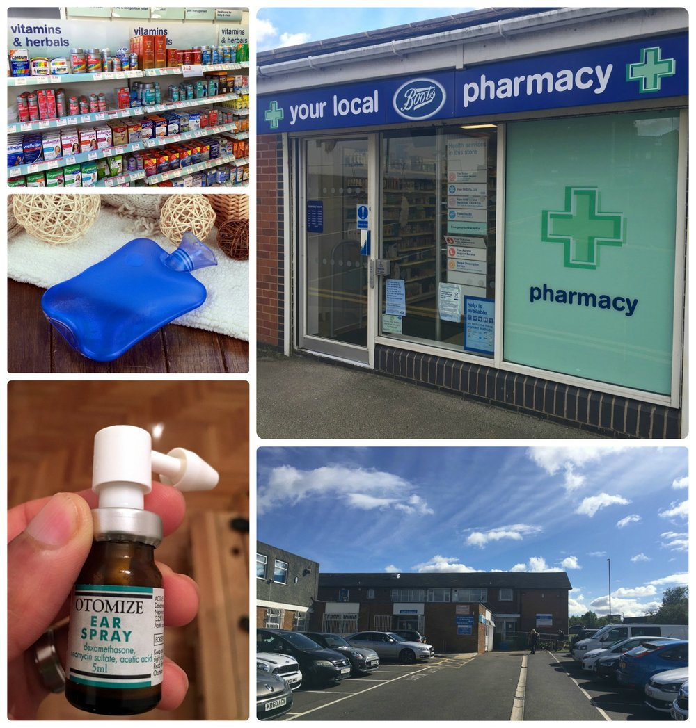 When Shannon's cold turned into a middle ear infection, we were in Leeds, United Kingdom. Subsequently, we navigated our way through the NHS (National Health Service) to see a doctor, get a prescription, and attempt to heal.