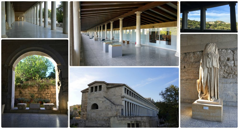 The Stoa of Attalos is located on the grounds of the Ancient Agora of Athens, which is included on the Athens Combine Ticket.