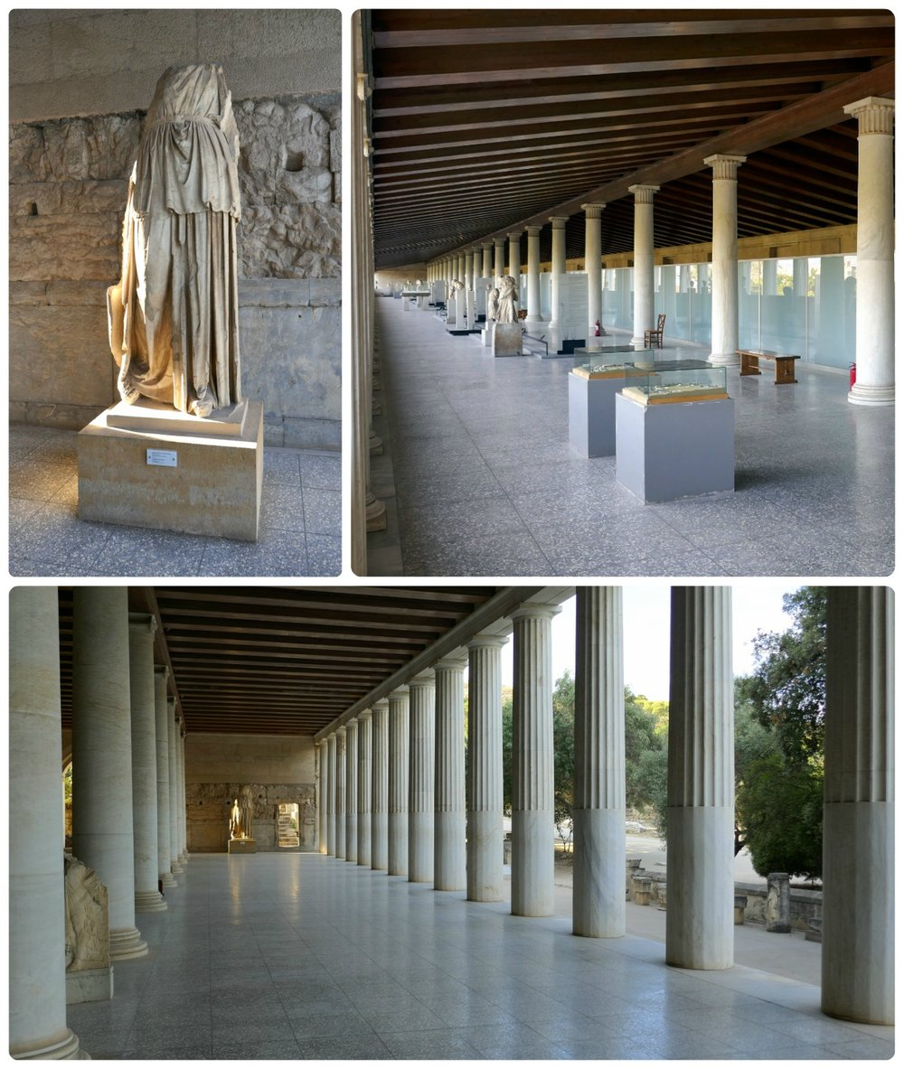 Be sure to visit the Stoa of Attalos; it's very impressive!