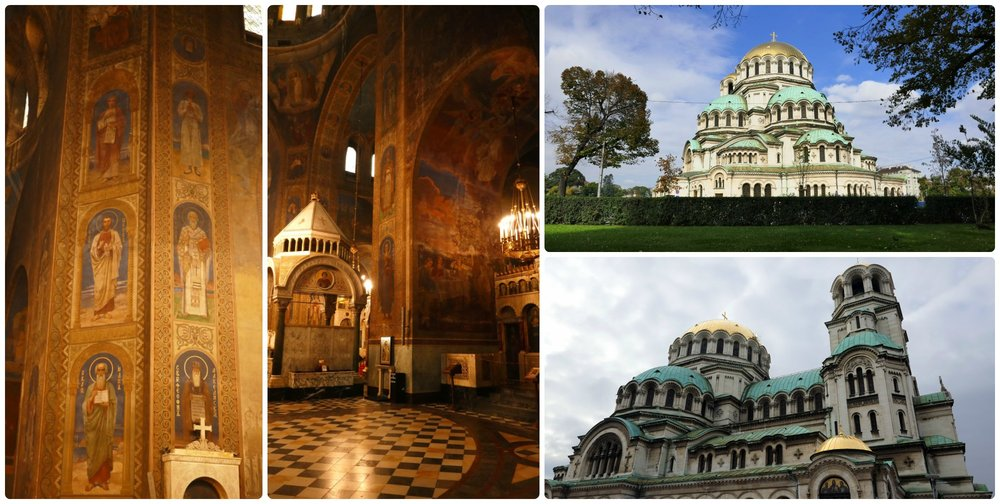Inside and out, Alexander Nevsky Cathedral in Sofia, Bulgaria is stunning!