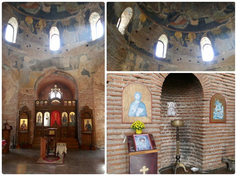 If you have a chance, don't miss visiting the inside of Church St. George Rotunda in Sofia, Bulgaria.