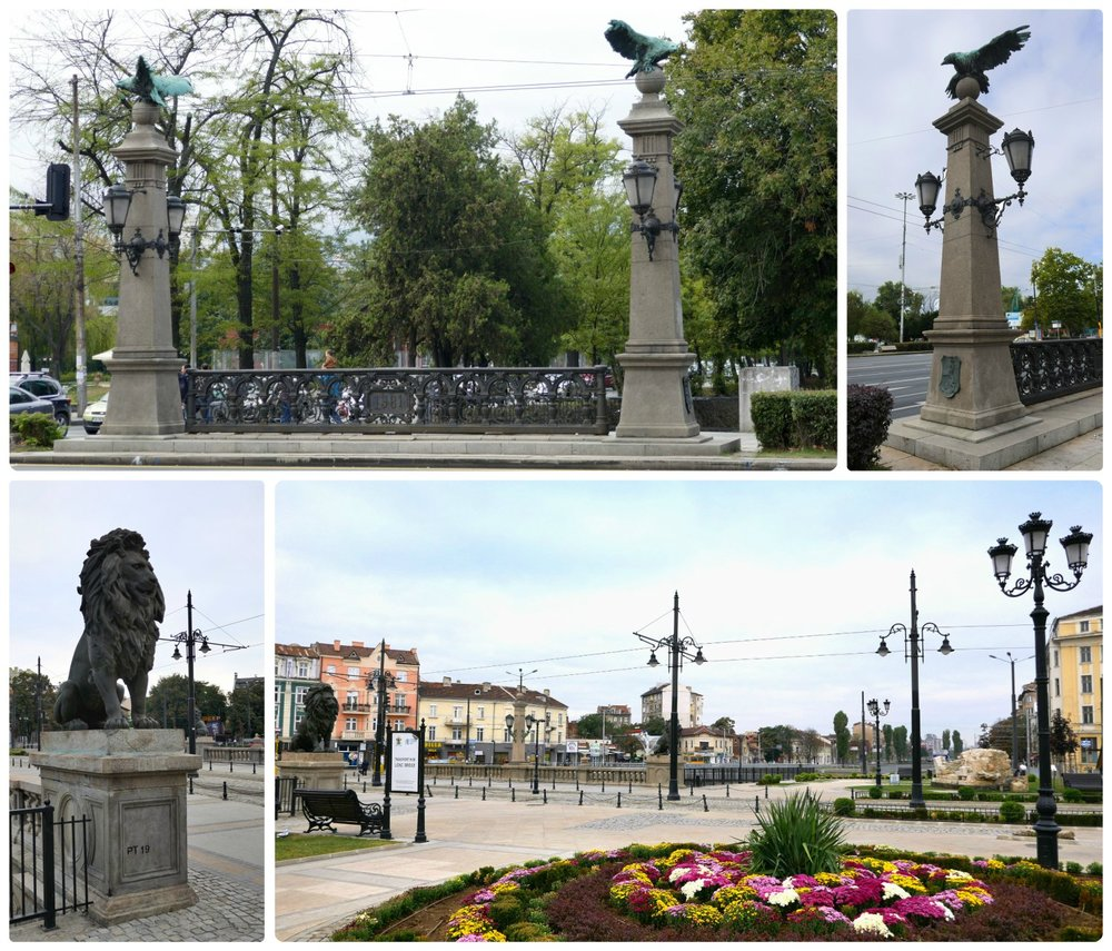 Eagle's Bridge and Lion's Bridge are both symbolic entrances into Sofia, Bulgaria.