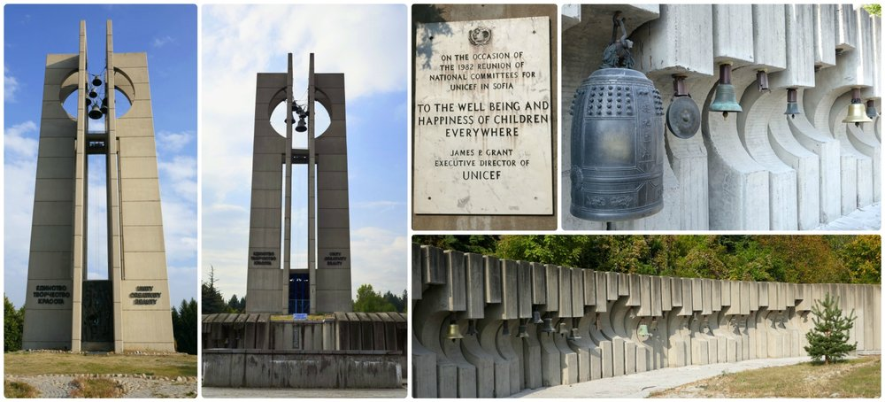 The uniqueness of the Bells Monument in Sofia, Bulgaria makes the journey to get to this attraction well worth it!