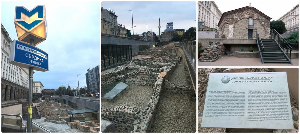 If you go digging in an ancient city, chances are that you'll find ancient ruins. Evidence of this is Sofia's Serdika Metro Station, which lead to the dsicovery of an ancient city!
