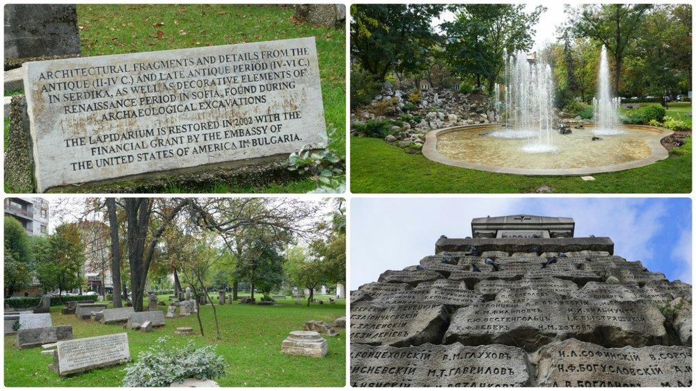 Doktorska Gradina (park/garden) in Sofia, Bulgaria is a great park to take a break in and escape the busy city center!