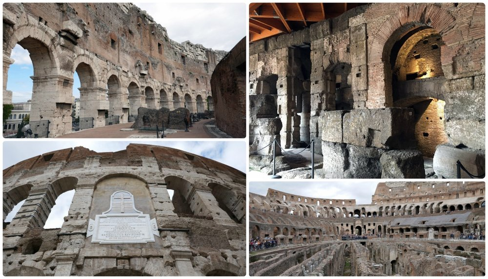 The Colosseum Underground tour (now called the Underground + Panoramic View Tour) included great information about the history of the Roman Colosseum.