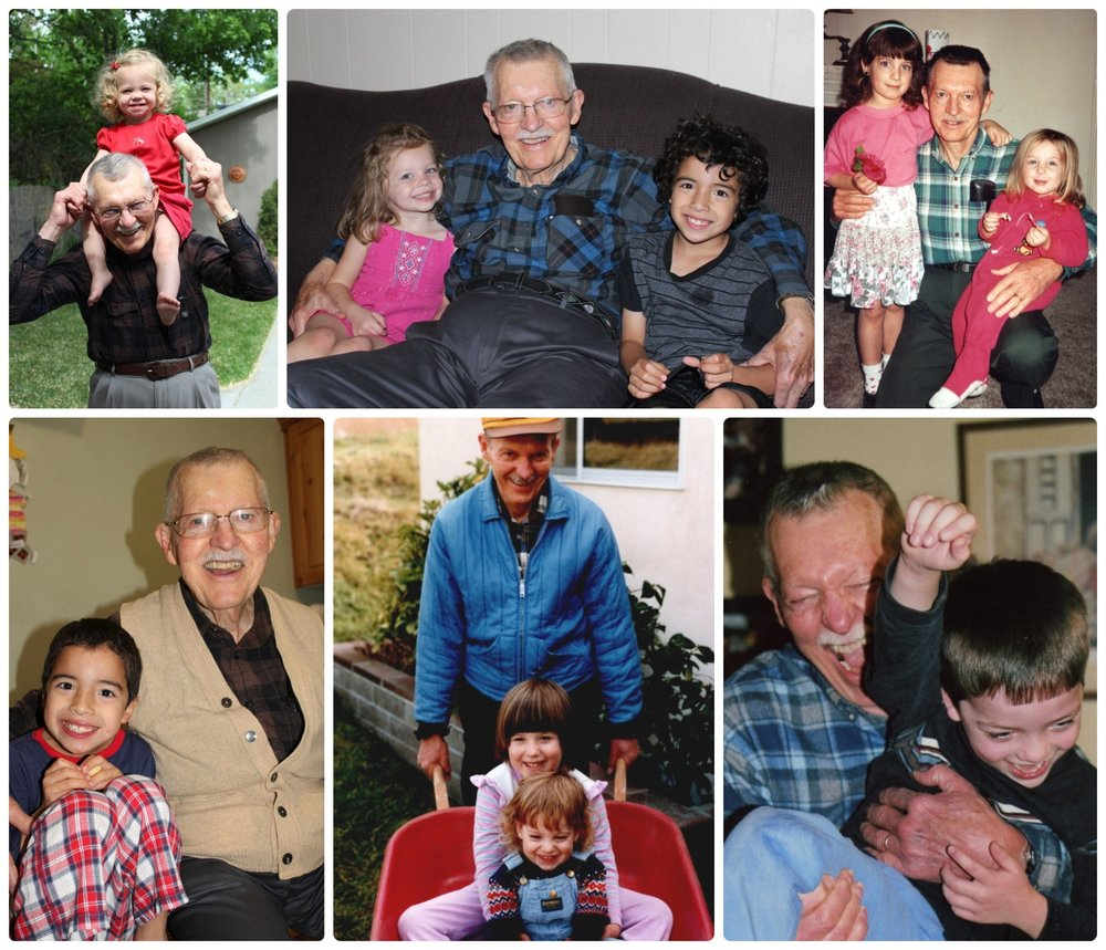 My Grandfather lives on through his six grandchildren!