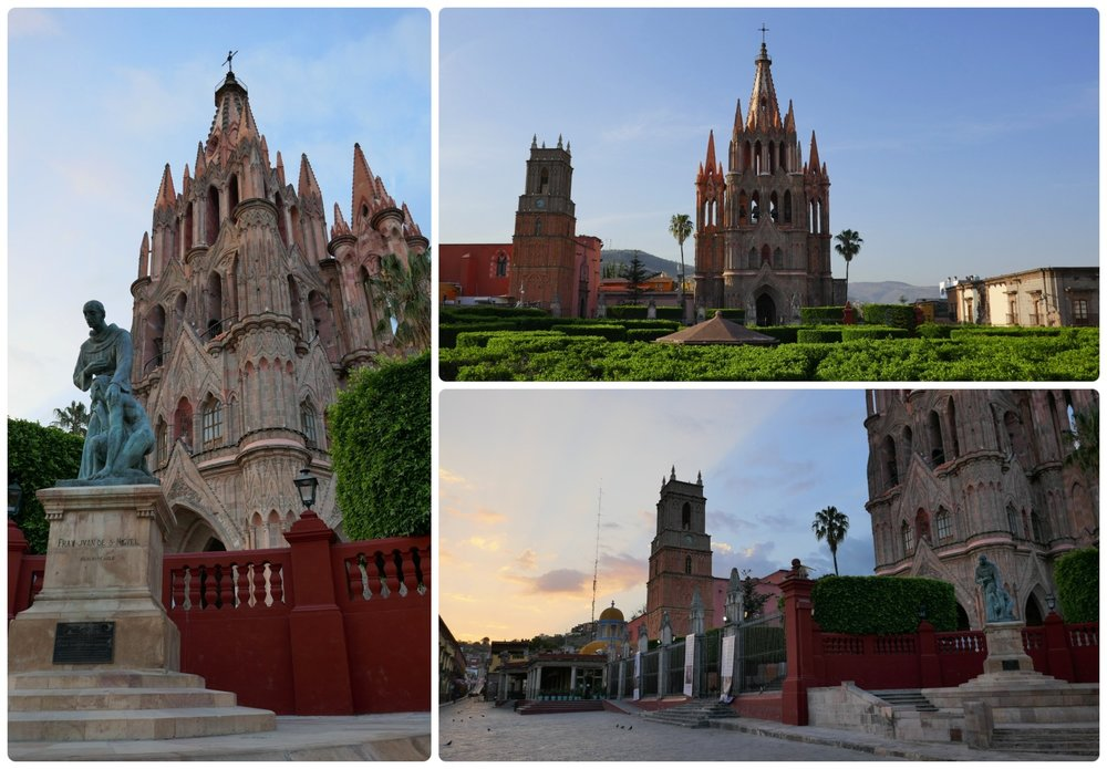 Parroquia de San Miguel Arcángel is a must-see landmark of San Miguel de Allende, Mexico and can be seen from anywhere in the city. Be sure to see it from one of the lookout points, but don't miss viewing it up close either!