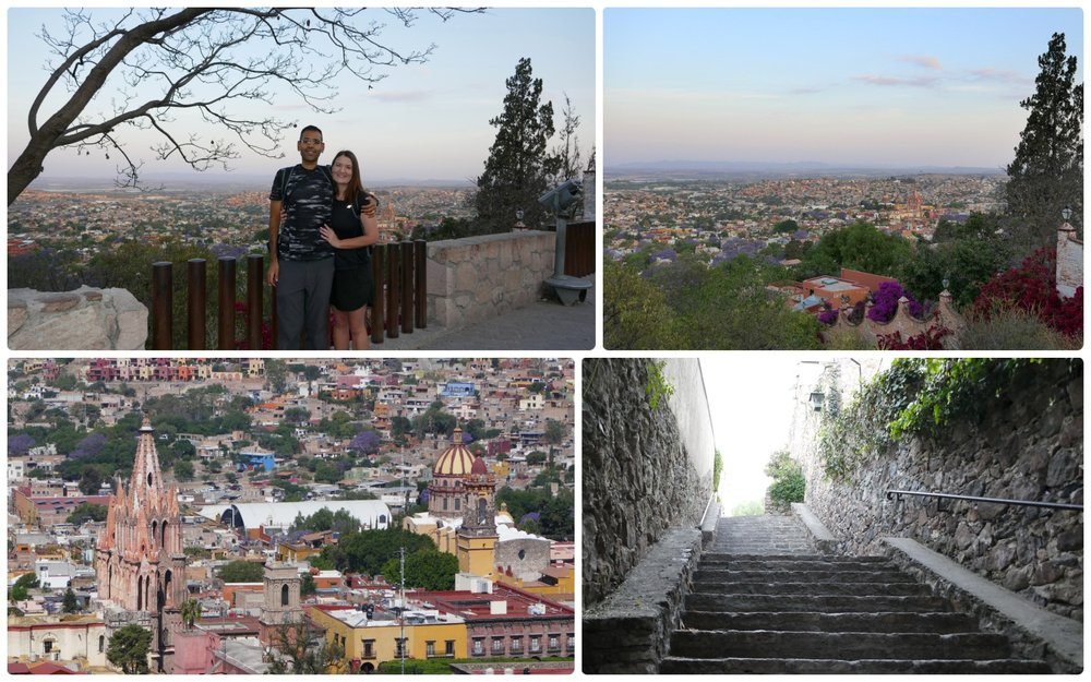 San Miguel de Allende's well known El Mirador is a great spot to see the beautiful Spanish Colonial town. We arrived just after sunrise and were nearly the only people there!