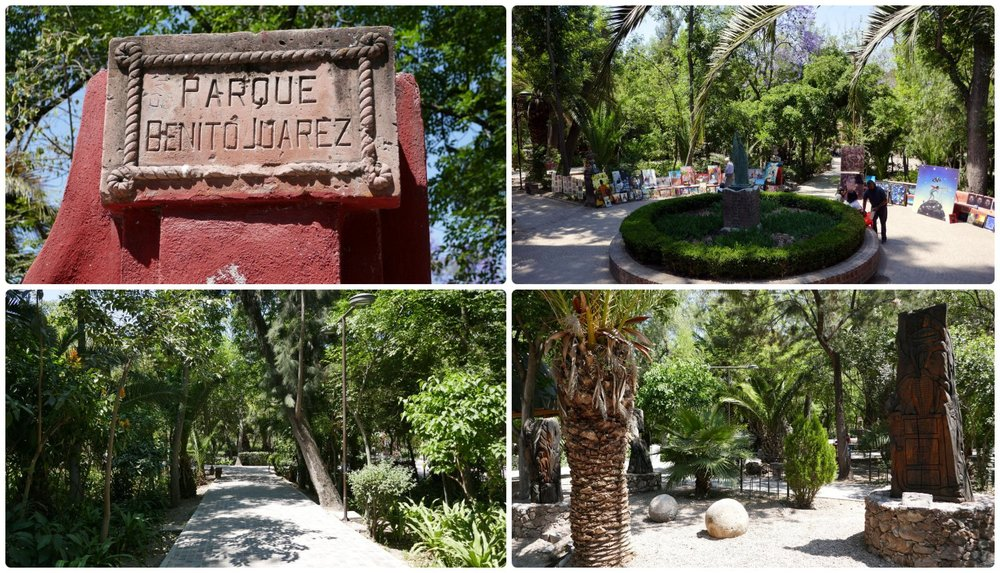 Juárez Park in San Miguel de Allende, Mexico is the perfect spot to relax, enjoy a stroll, and find the perfect piece of art to take back home!