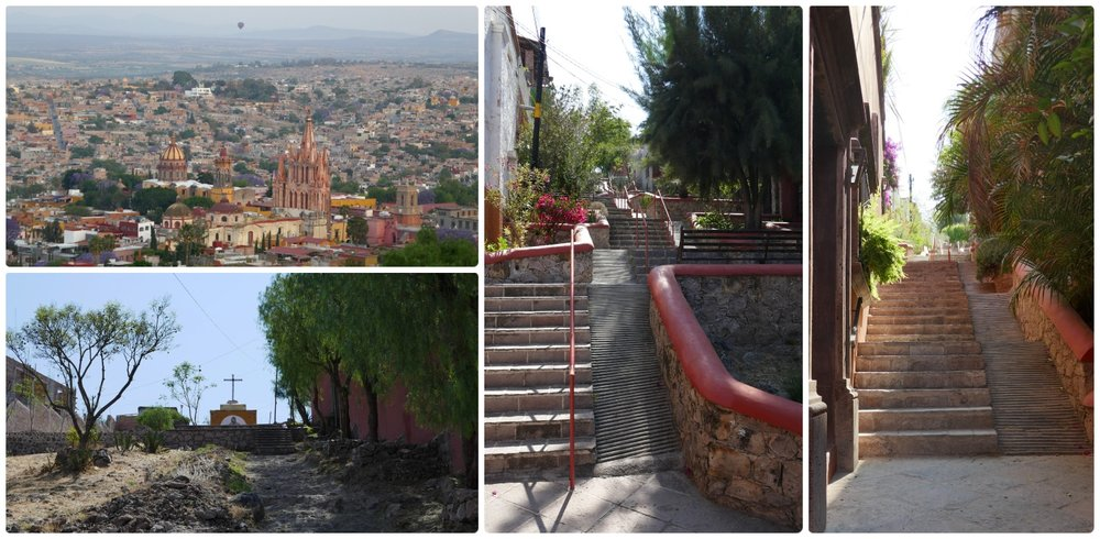 San Miguel de Allende's Mirador Cruz del Pueblo may be a hike to reach, but the view is worth it!