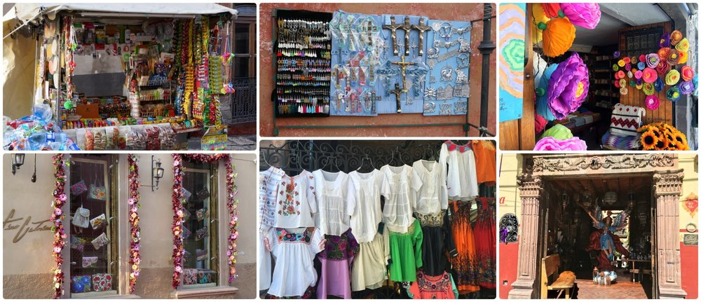 From the architecture to the shops, nearly everything in San Miguel de Allende, Mexico seems to be bright and colorful!
