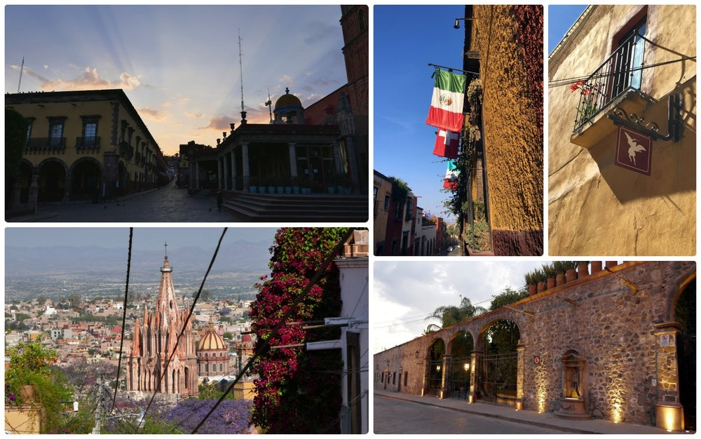 San Miguel de Allende, Mexico is a beautiful Spanish Colonial town with a history that played a large role in the Mexican War of Independence.