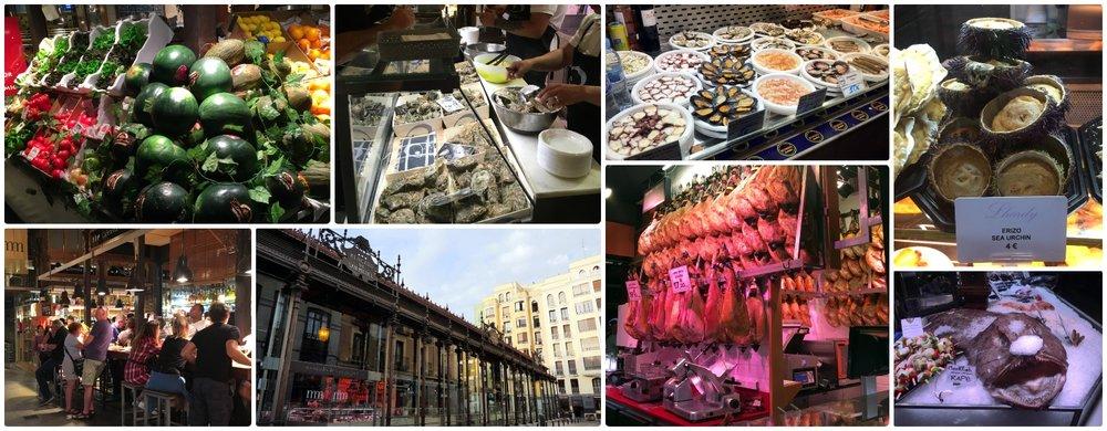 Mercado de San Miguel in Madrid, Spain.