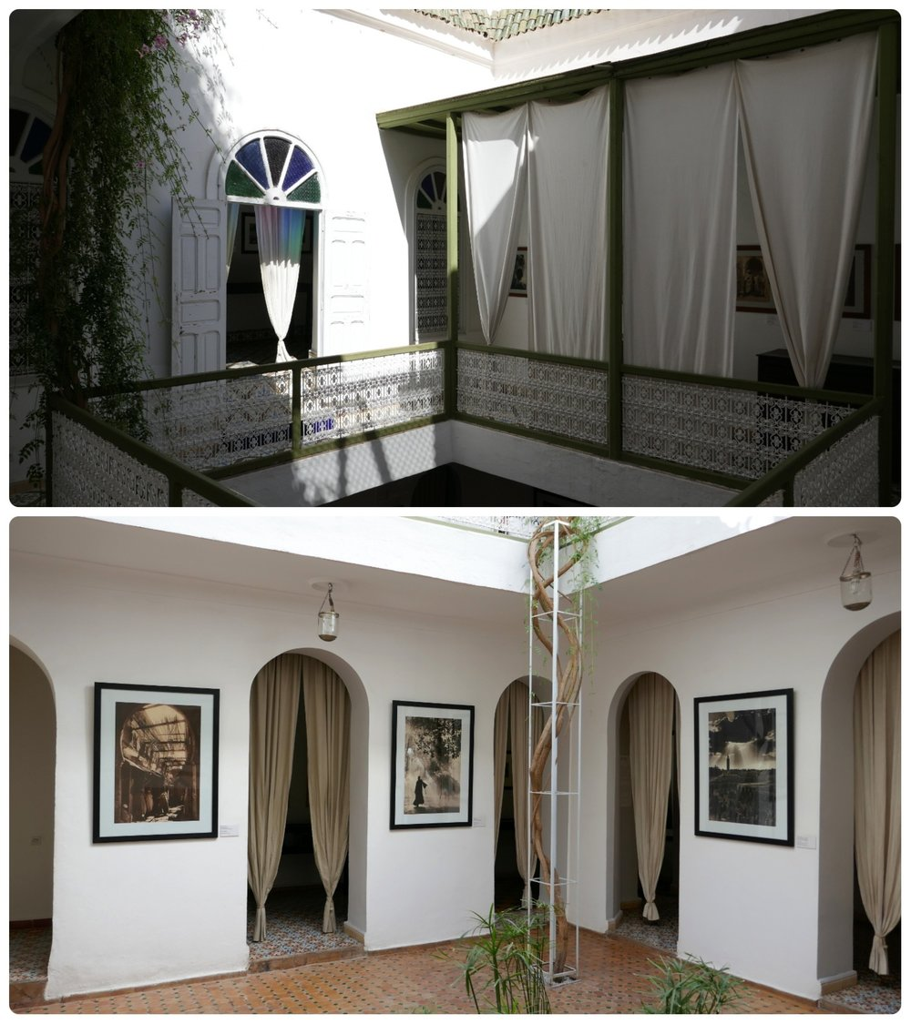 The Marrakech Museum of Photography - House of Photography in Marrakech is a wonderful example of a classic Moroccan Riad!
