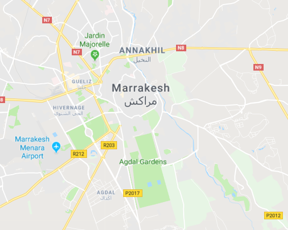 Marrakech Marrakesh Morocco Tourist Tips and travel information city guide how to what to know before you visit where to stay hotels riads google map tourist map city map directions navigate explore