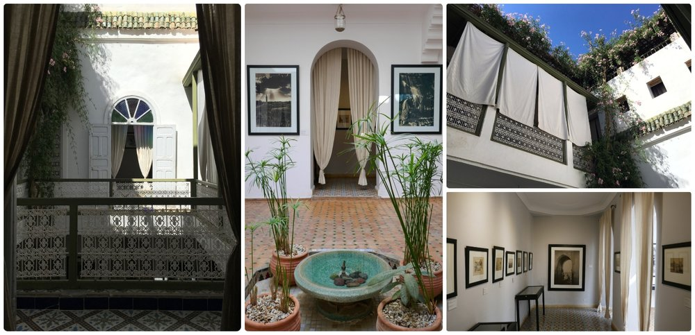 Museum of Photography - House of Photography in Marrakech in Morocco is a thought provoking photography exhibit and a beautiful example of a traditional riad!
