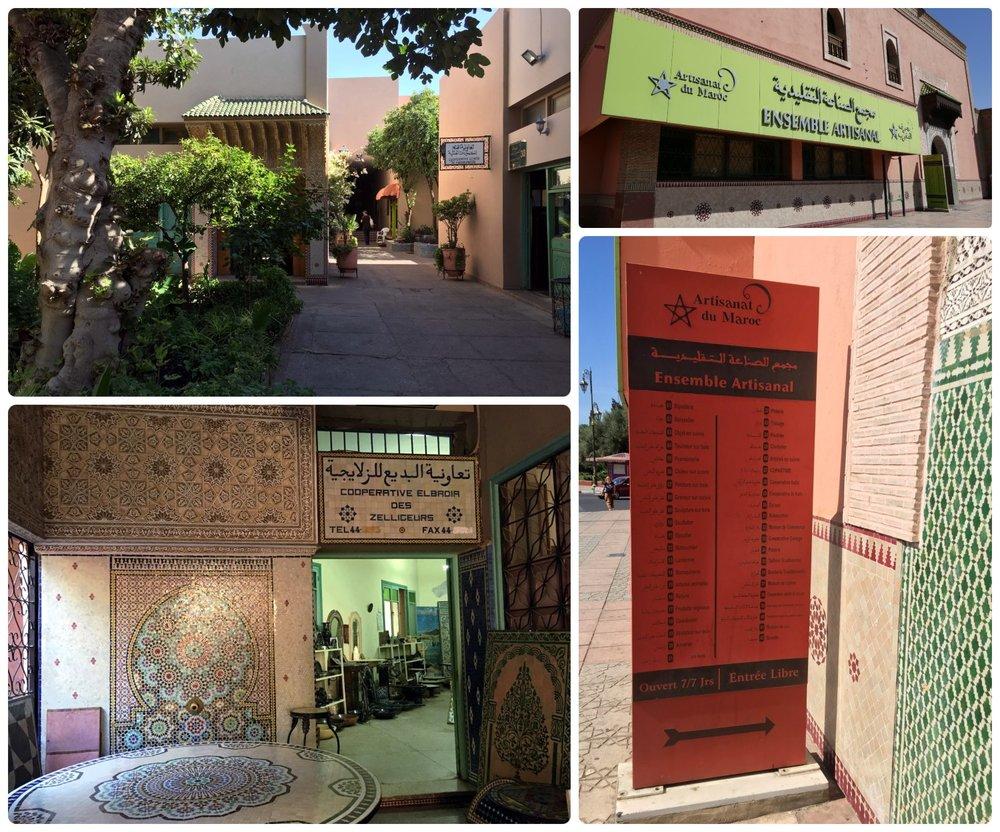 Artistic Ensemble Marrakech (Ensemble Artisenal) in Marrakech, Morocco.