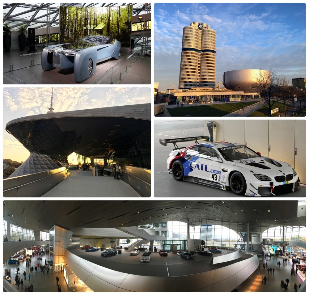 Munich Germany travel tips and tourist information BMW Welt Free BMW Museum BMW Headquarters BMW gallery free tourist attraction visit information