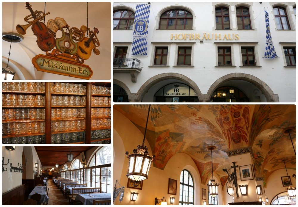 Hofbräuhaus München Brewery in Munich, Germany is a must see if you want to experience the Bavarian Brewery history that Munich is famous for!
