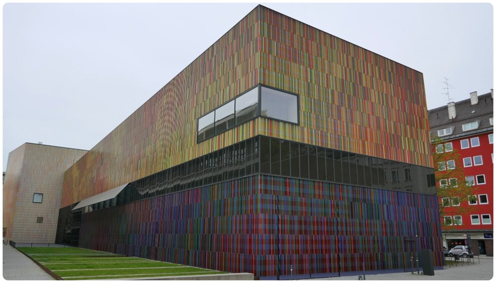 Museum Brandhorst in Munich, Germany is a modern art museum.