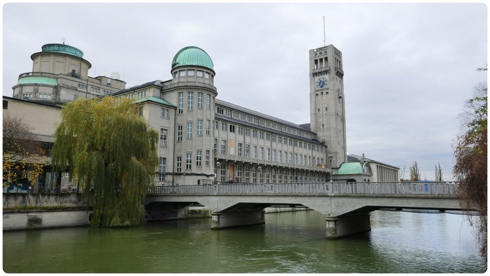 Science and Technology Museum (Deutsches Museum) in Munich, Germany.