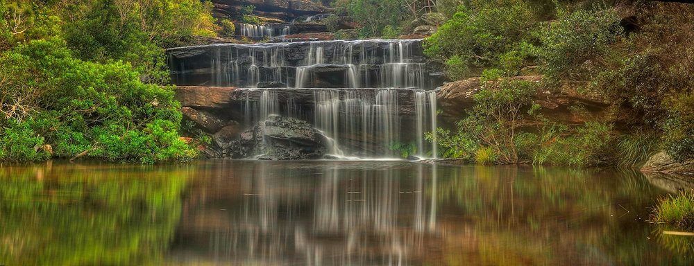 Wattamolla Falls, Royal National Park, Australia | Source  flickr