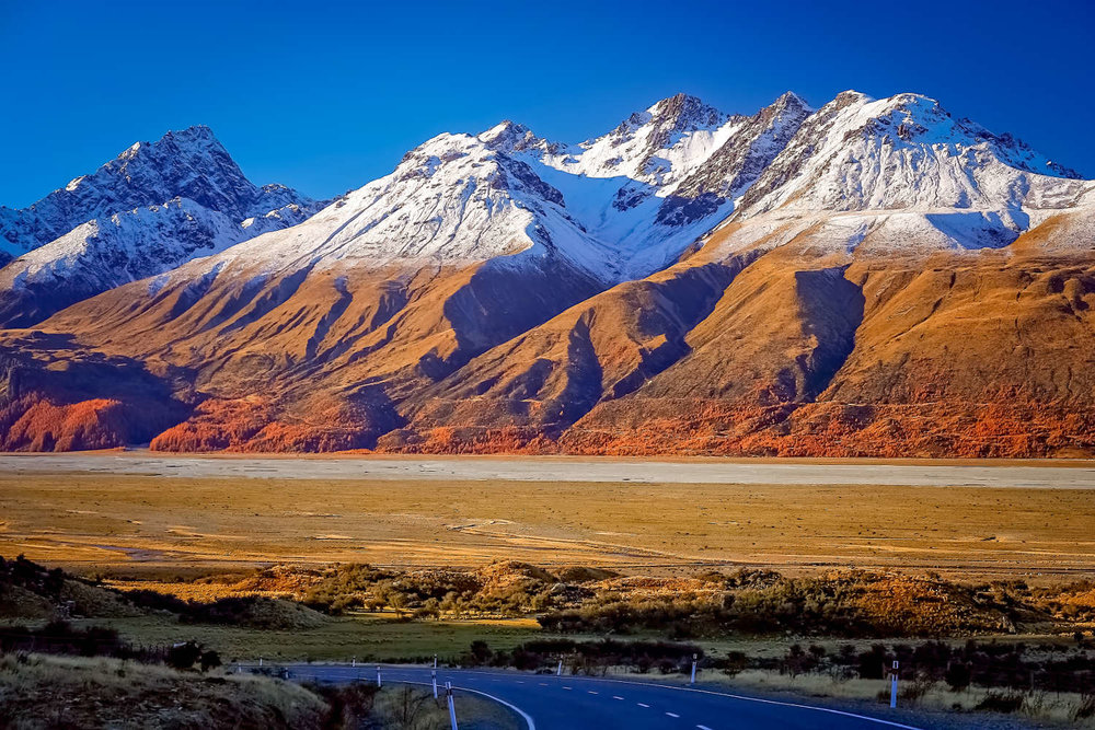 New Zealand's South Island.