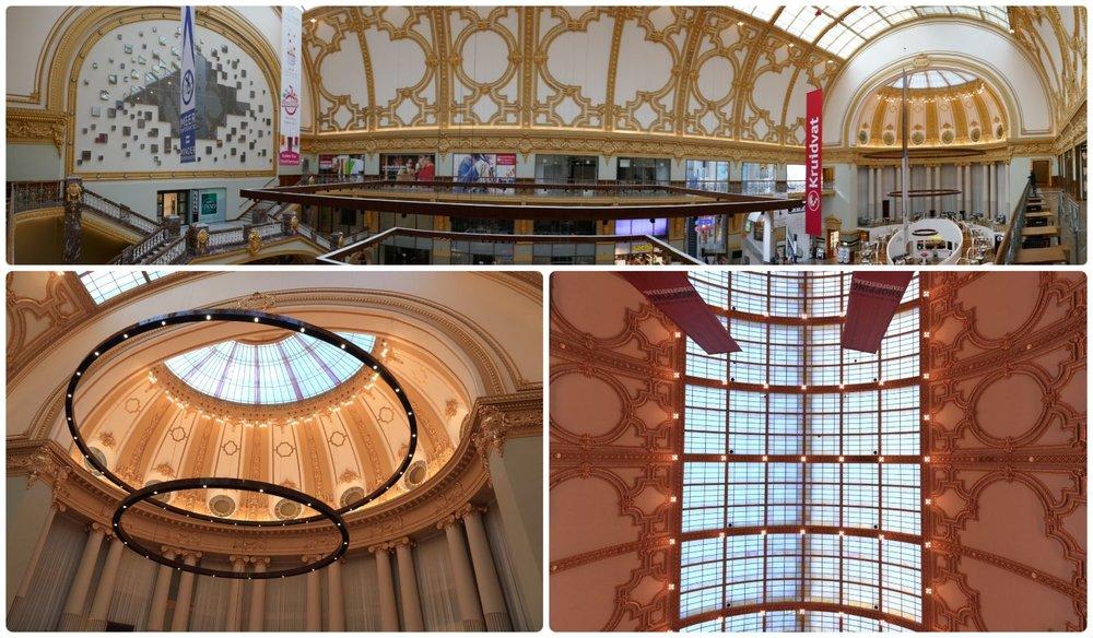 Shopping Stadsfeestzaal in Antwerp, Belgium.