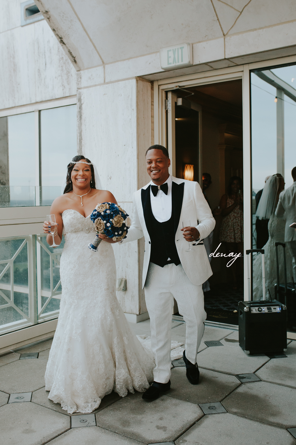 Atlanta Rooftop Wedding
