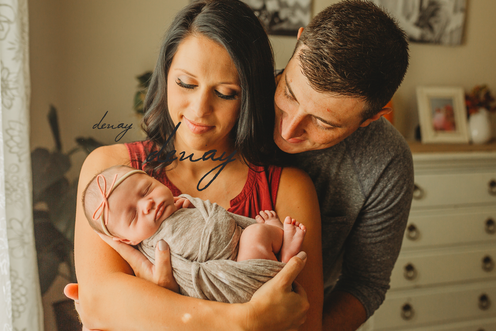 Denay Shook Photography, LLC Lawrenceville Newborn Photographer