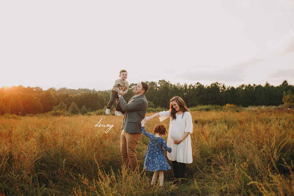 Atlanta Maternity Photographer Denay Shook Photography, LLC