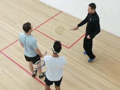 Get Lessons - Squash is an easy sport to learn, but professional instruction at the beginning is always recommended. Players in the greater NYC area benefit from many of the most respected teaching pros in the world.