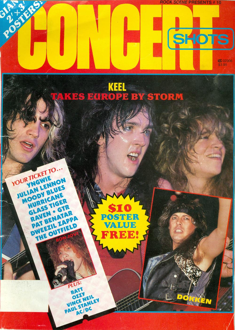 1986 Concert Shots