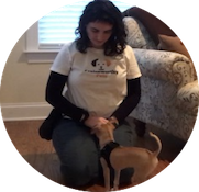 Practice Sessions - Naomi trains with your dog 1-on-1, giving him extra practice time on the skills you are working on at home.