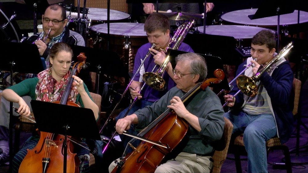 Chancel Orchestra - The Chancel Orchestra's mission is to call people together to praise God with the sound of tuned instruments for praise. A non-auditioned group, the orchestra meets on Sundays from 8:15-9:10am in the Music Suite and plays each week at the 9:15am worship service.