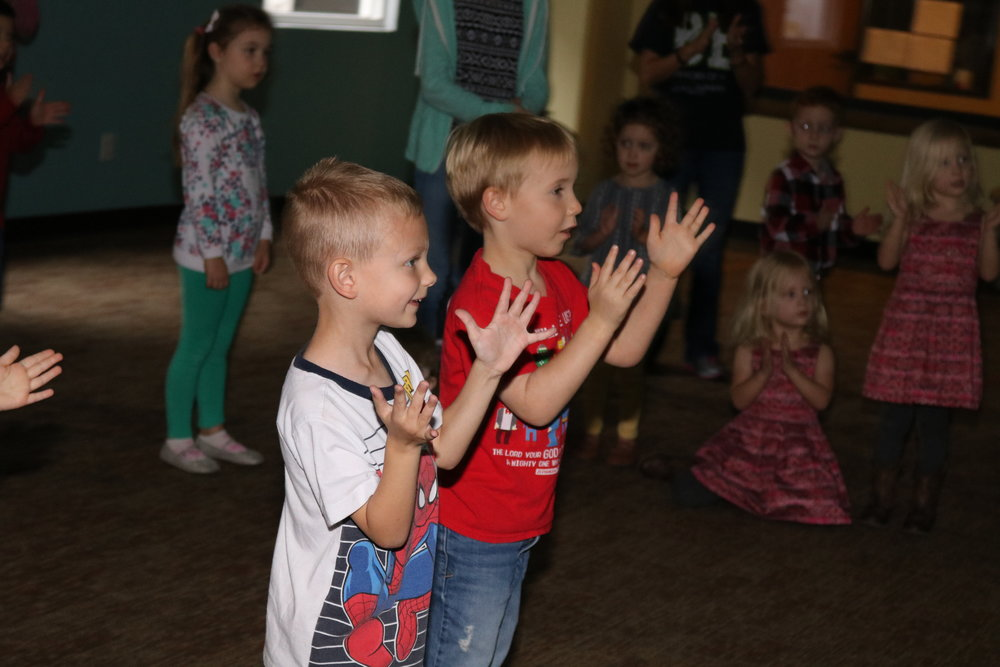 CHILDREN'S MINISTRY SUNDAYS