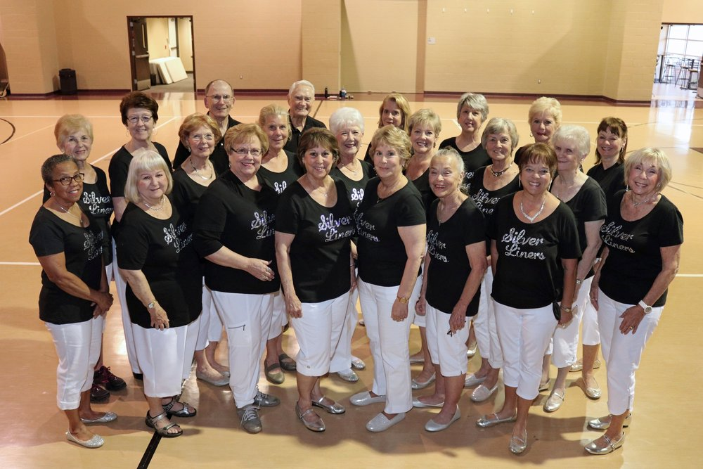 Silver Liners Dance Team - The Classic Adults line dancing ministry is open to men and women regardless of experience level. Weekly practice for less experienced dancers is Thursdays at 3:15, and for more experienced dancers at 4:00pm in the Gym. The Silver Liners perform at nursing homes, churches, Good Shepherd events, and other venues. For more information, email Gwen at gdancer55@yahoo.com.