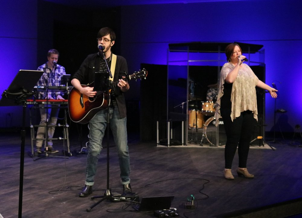 Contemporary Worship (10:45am) - Our Contemporary service is led by Stephen Quintero and the Good Shepherd Worship Band. The music includes songs that are relevant to multiple generations. The goal of the contemporary service is to provide an open and encouraging time of meaningful worship.
