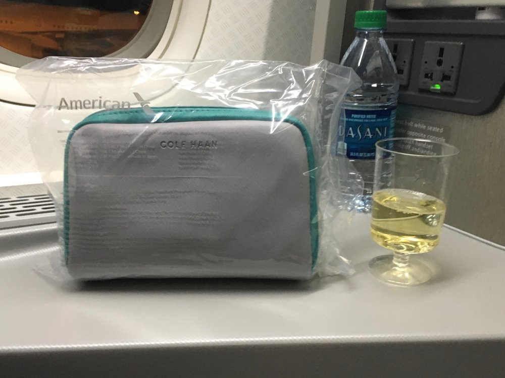 Everything you need for a good flight.