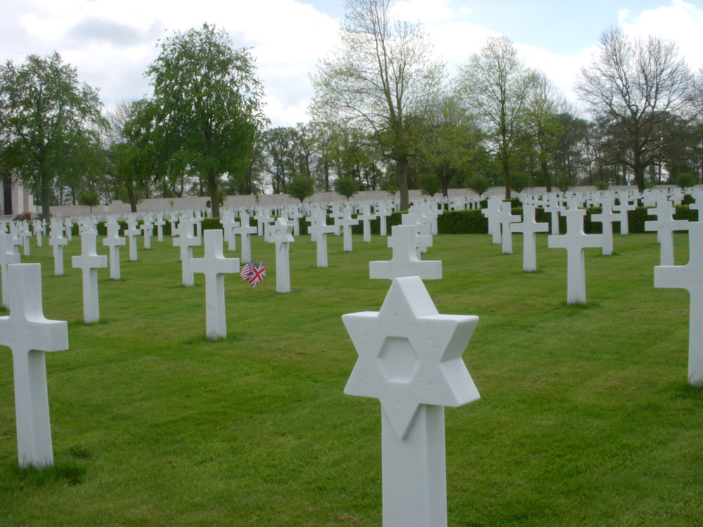 American WWII cemetery in Cambridge
