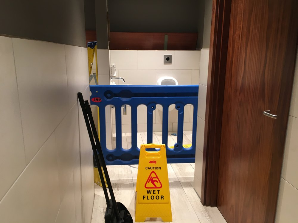 Bathroom maintenance