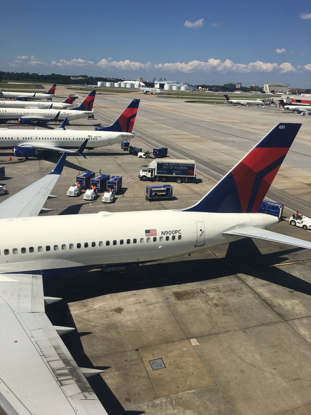 View from the Sky Club at ATL