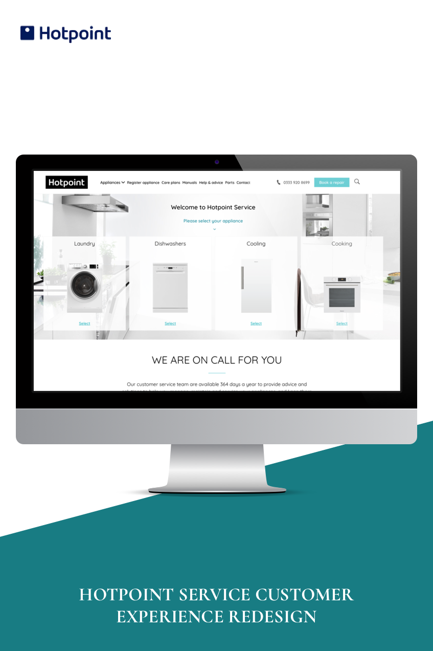 HOTPOINT SERVICE CUSTOMER EXPERIENCE REDESIGN