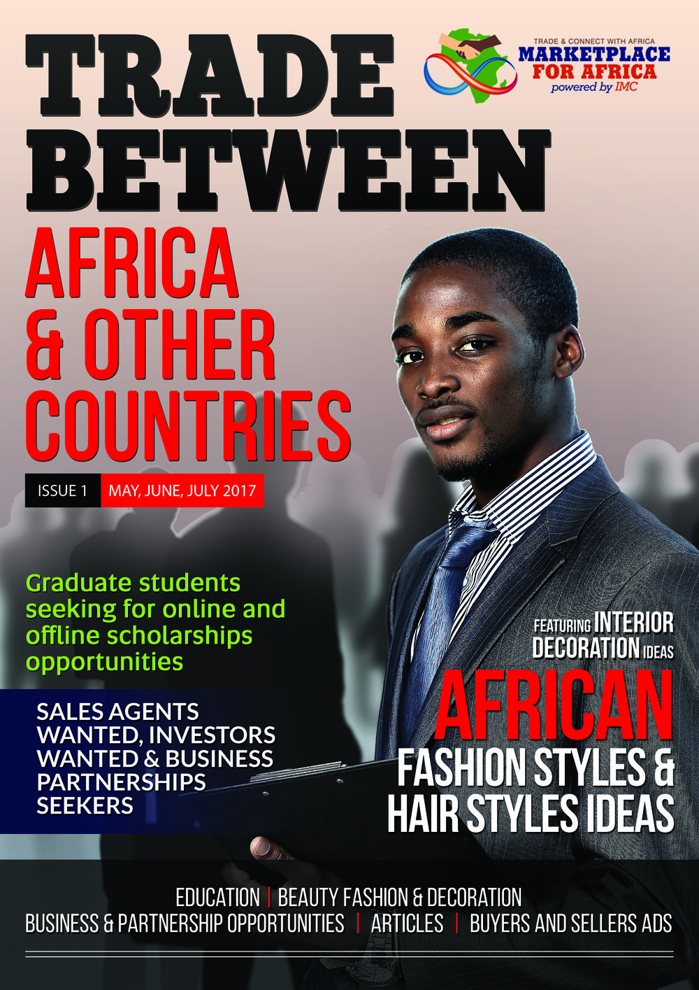 Trade Between Africa and Other Countries Magazine Issue 1, May, June and July 2017
