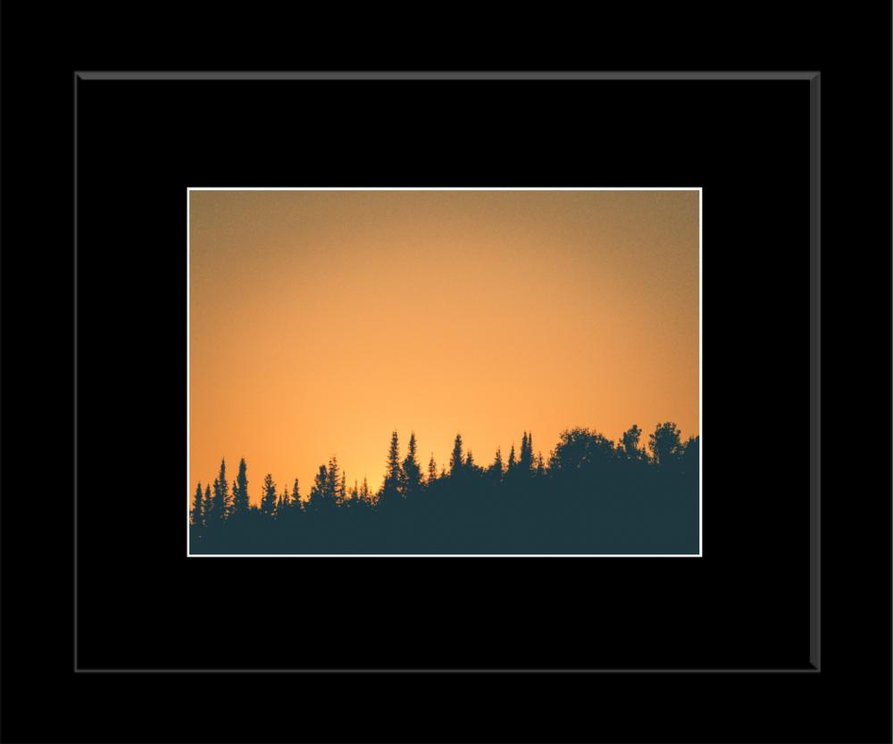 Framed Print (black mat)
