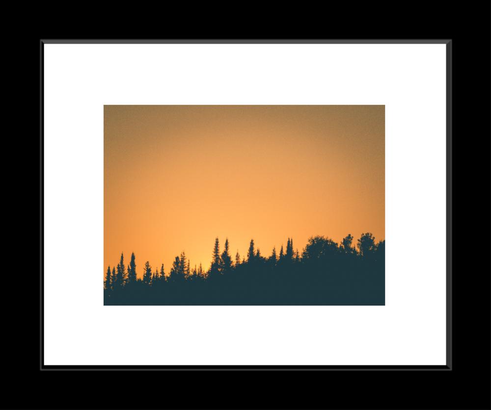 Framed Print (white mat)